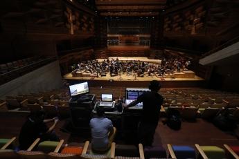 Orchestra recording pic 1